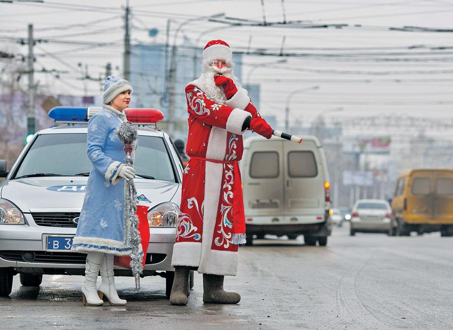 Брянцам рассказали, где в новогоднюю ночь будет ограничено движение