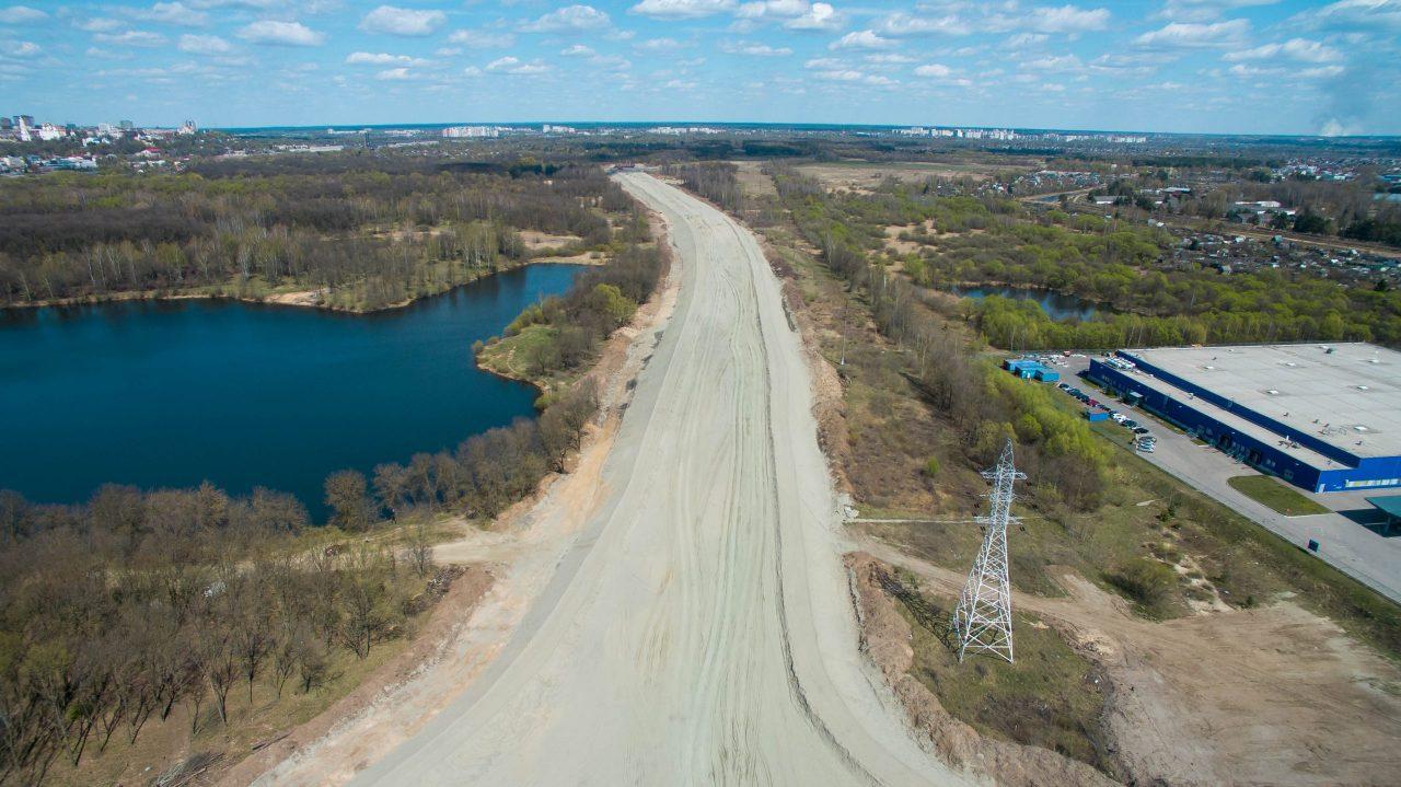В Брянске завершен первый этап строительства дороги к «Метро»