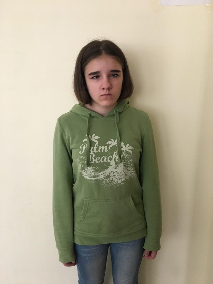 В Брянске 13-летняя Галя ищет любящую семью