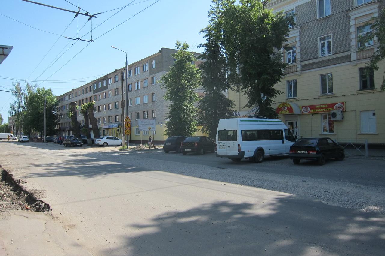В Брянске ремонтируют улицу Молодой Гвардии