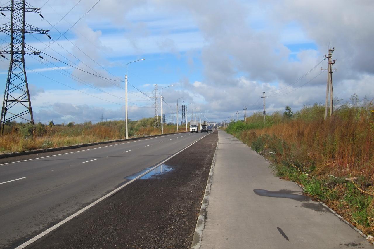 В Брянске забраковали новый тротуар на улице 22-го Съезда