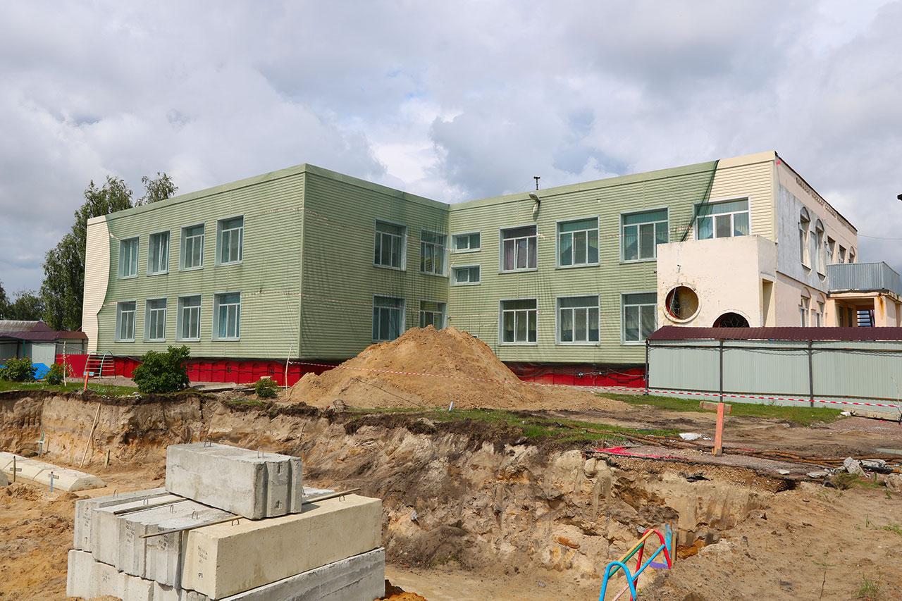 В Брянске идет активное строительство яслей