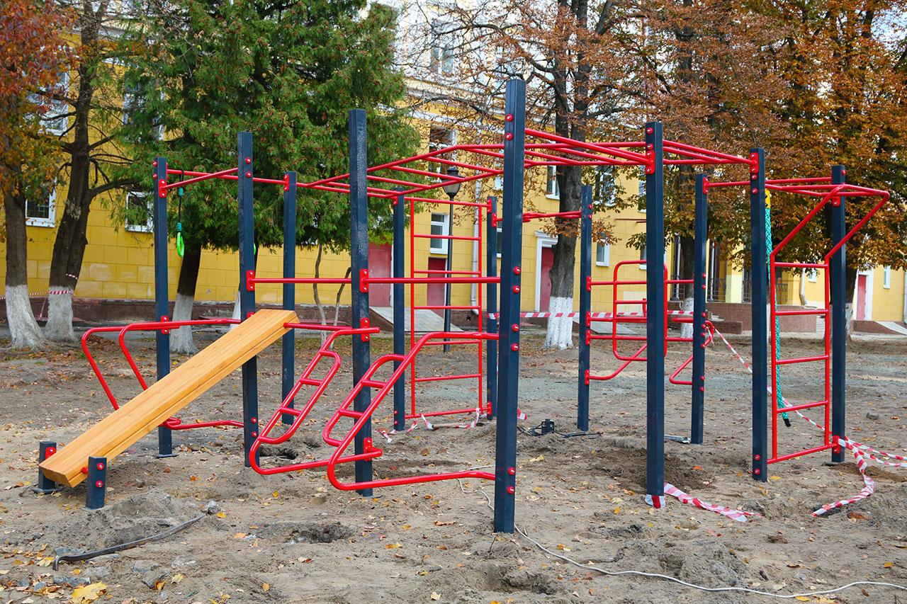 В Брянске появится гимнастический комплекс для детей