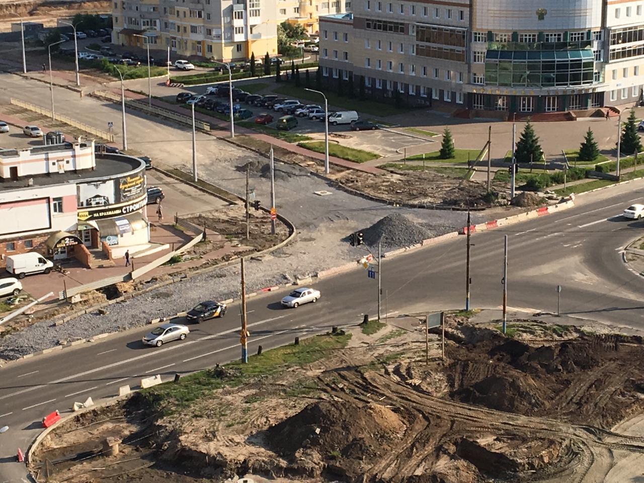 В Брянске закрыли повороты к магазину OBI и складу «Океан»
