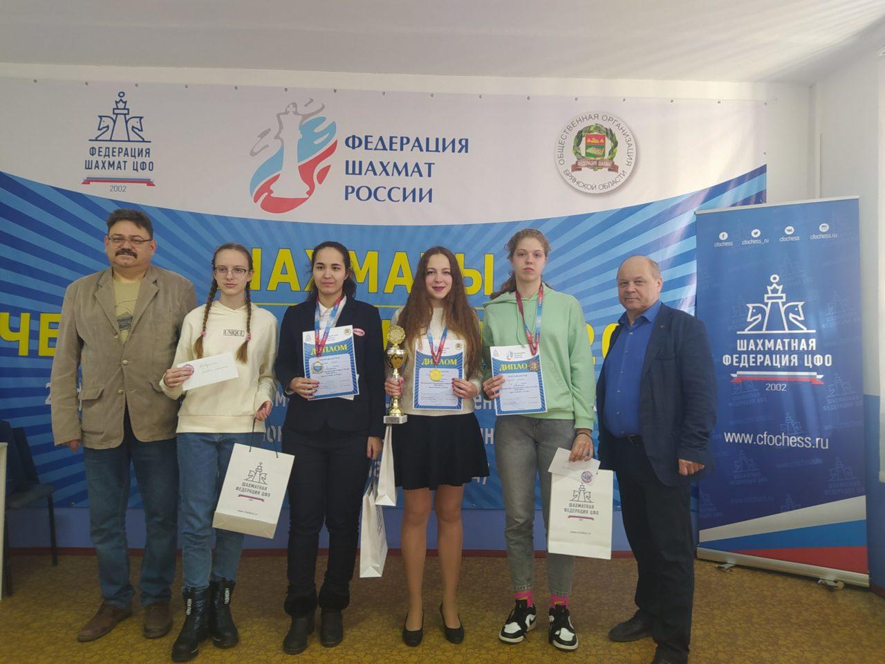 Три шахматных турнира состоялись в Брянске