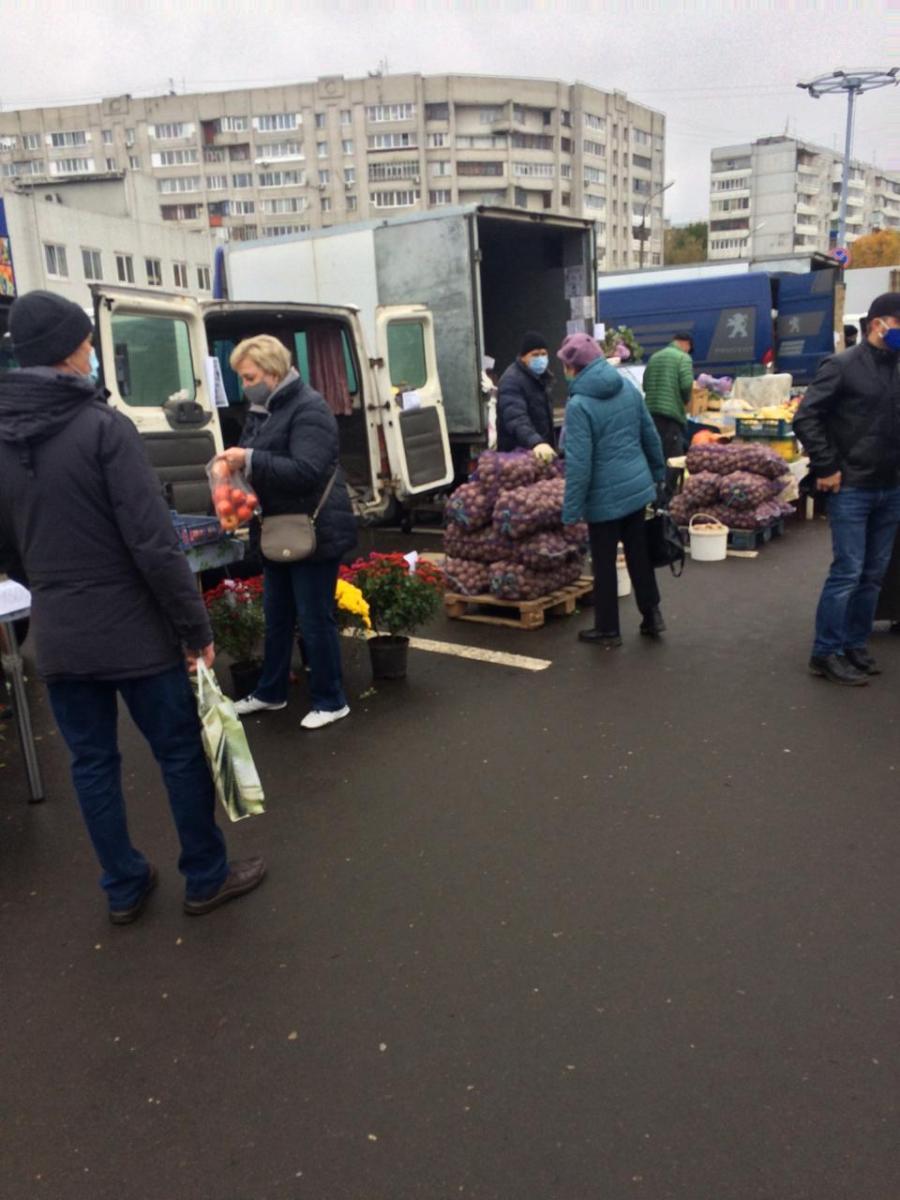 В Брянске на ярмарке выходного дня продали 75 кг картофеля