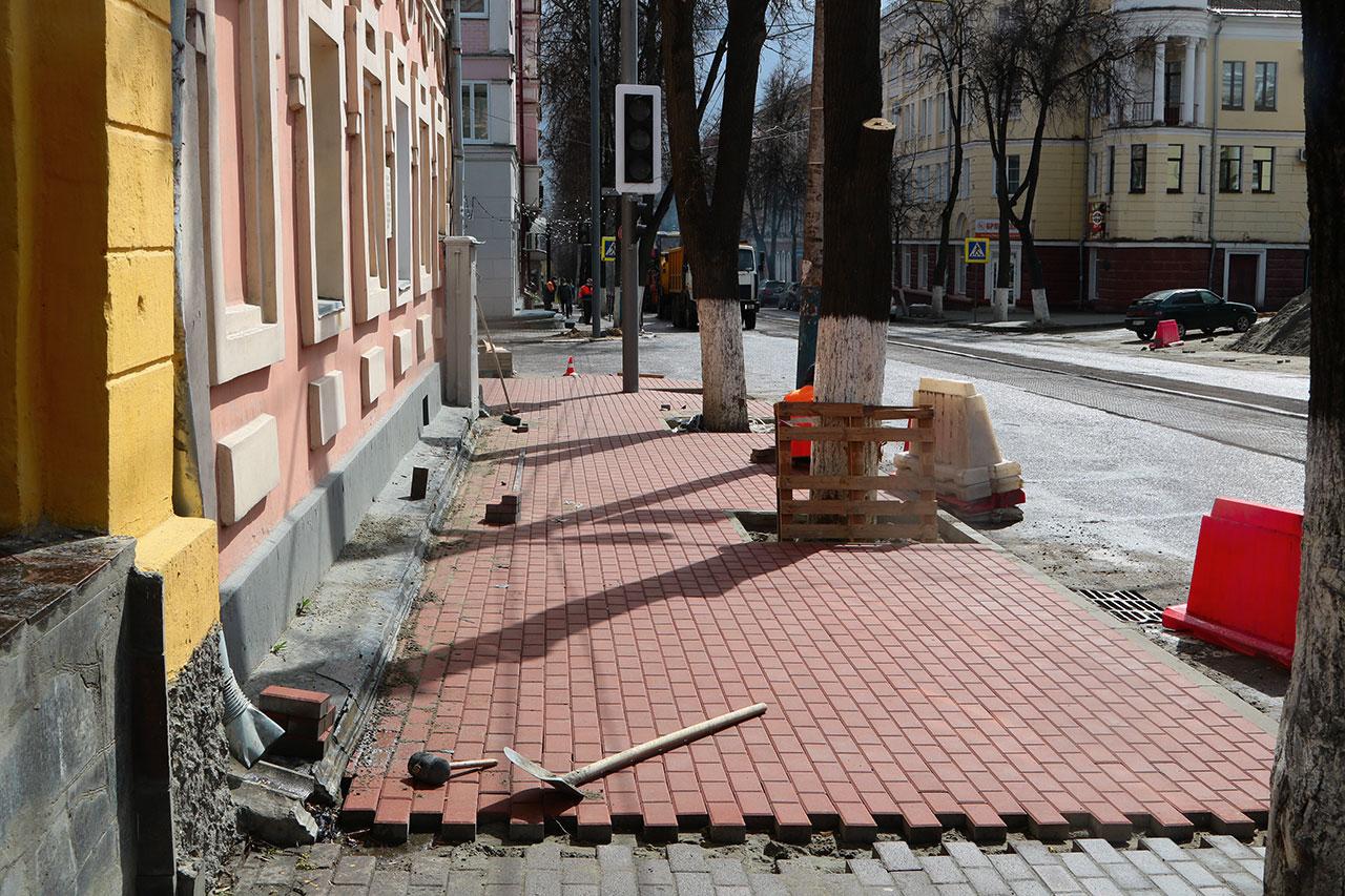 В Брянске начали фрезеровать улицу Фокина