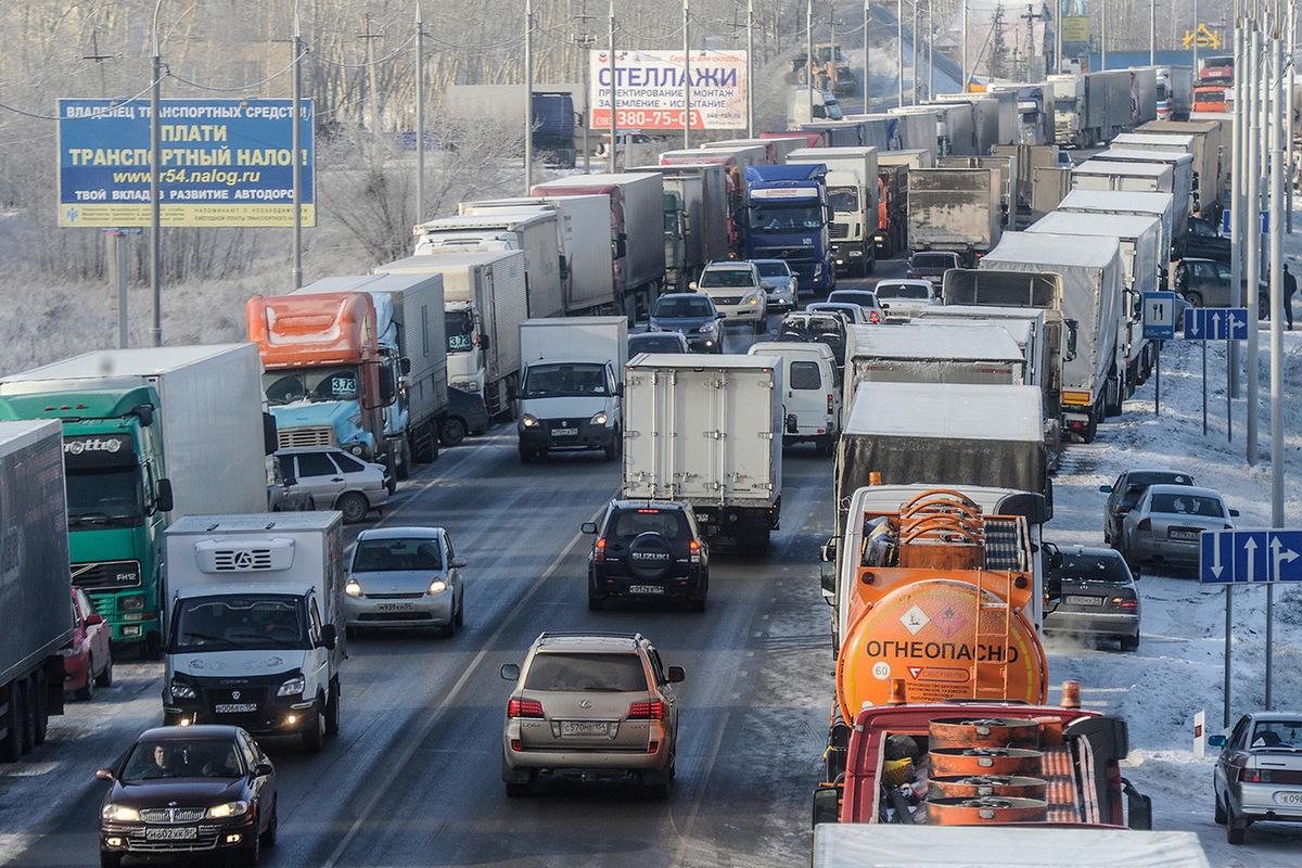 С 19 марта движение большегрузов по дорогам Брянской области будет ограничено