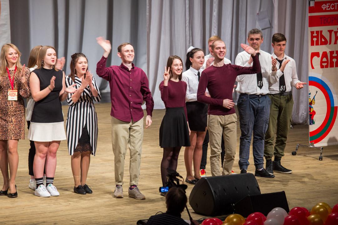 Студенты из Курска победили на фестивале «Шумный балаган+» в Брянске