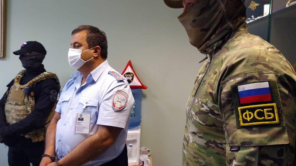 Брянского подполковника полиции Мкртчяна оставили под стражей до января