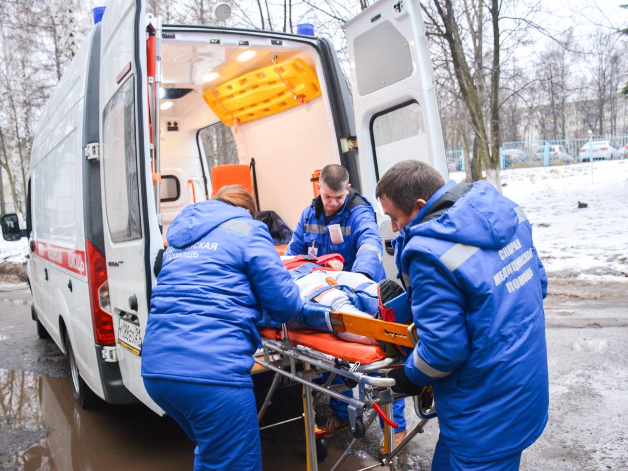 В ДТП в Клинцовском районе пострадал водитель газели