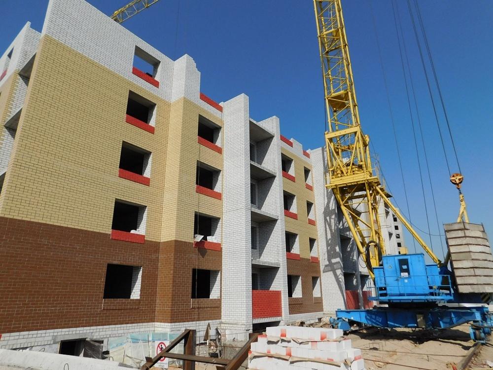 В Брянске в полтора раза увеличились объемы строительства
