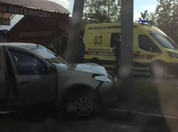 В жутком ДТП на Литейной в Брянске пострадали три человека