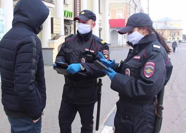 За сутки в Брянске поймали 224 нарушителя режима самоизоляции
