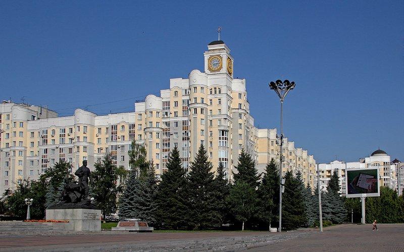 В Брянске починили главные городские часы