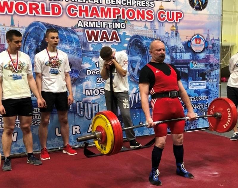 Спортсмен из Стародуба стал чемпионом мира