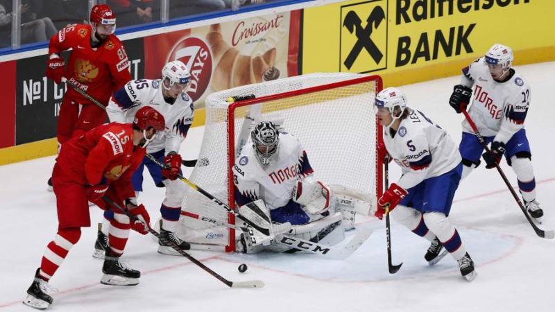 Сборная России победила Норвегию в стартовом матче ЧМ по хоккею