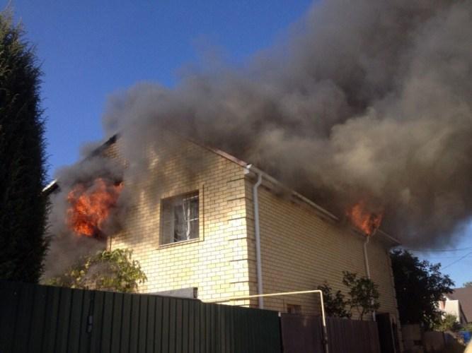 Вчера в Фокинском районе Брянска сгорел дачный дом