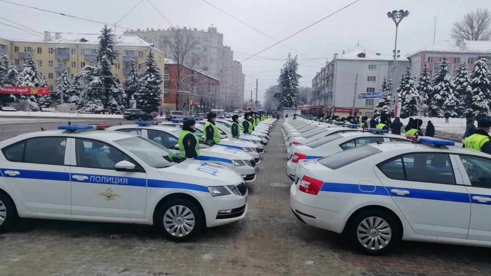 Автопарк брянской ГАИ увеличился на 47 машин
