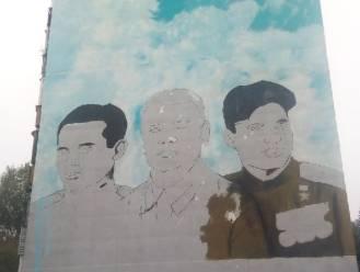 В Бежицком районе Брянска появились контуры портретов летчиков