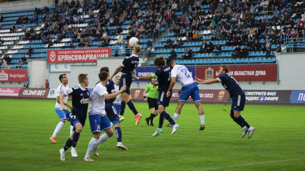 Астраханский «Волгарь» обыграл брянское «Динамо»