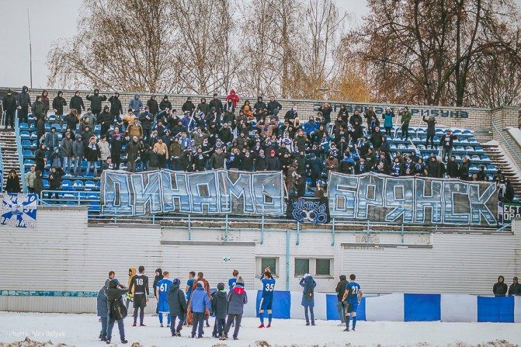 Брянское «Динамо» разгромило орловцев