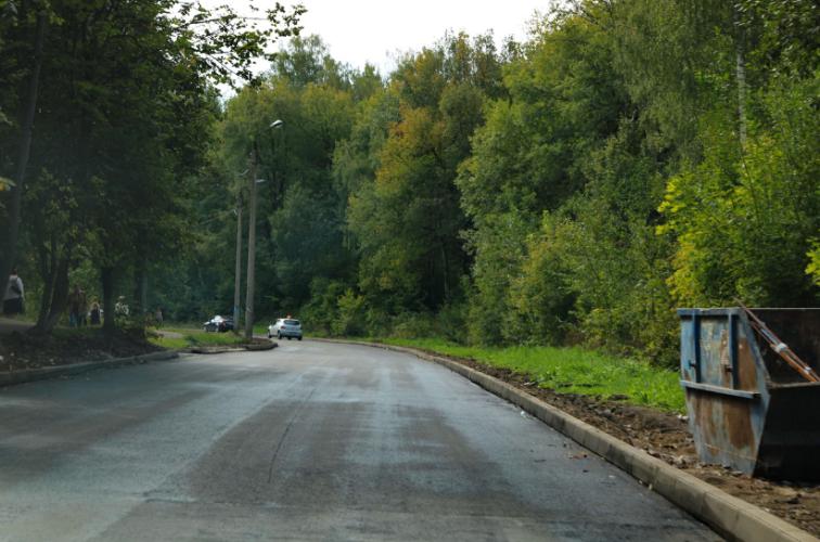 В Брянске завершается ремонт улицы Федюнинского