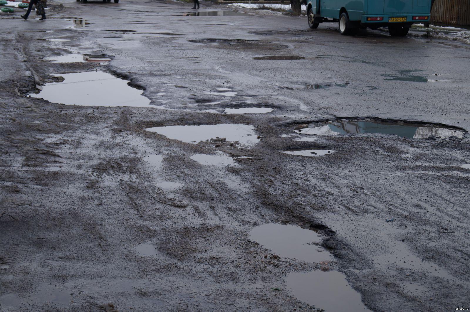 В Брянске заметили ямы на новой дороге на 3-го Интернационала
