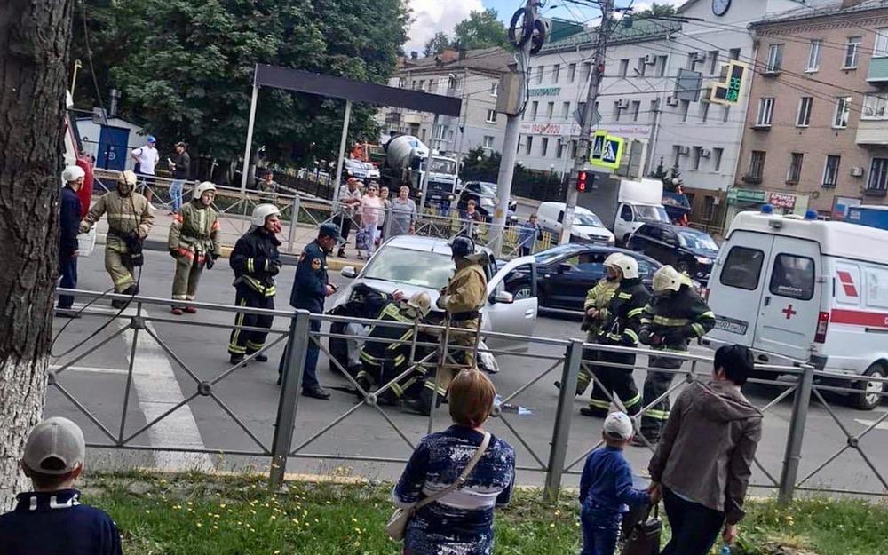 В ДТП в Красной Горе пострадала 27-летняя девушка