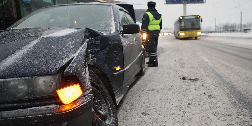 В Брянске ищут скрывшегося после ДТП водителя