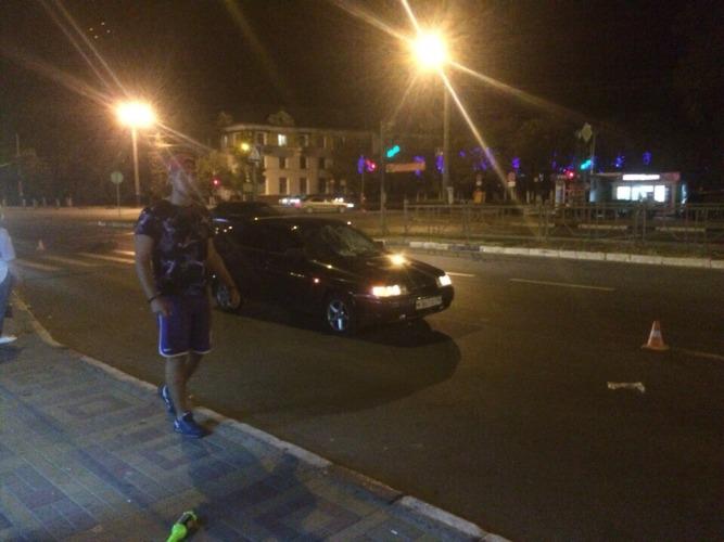 В Брянске пешеход попал под колеса авто