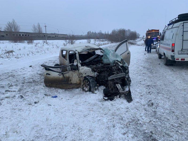 В ДТП на трассе Р-120 в Жуковском районе погиб молодой мужчина