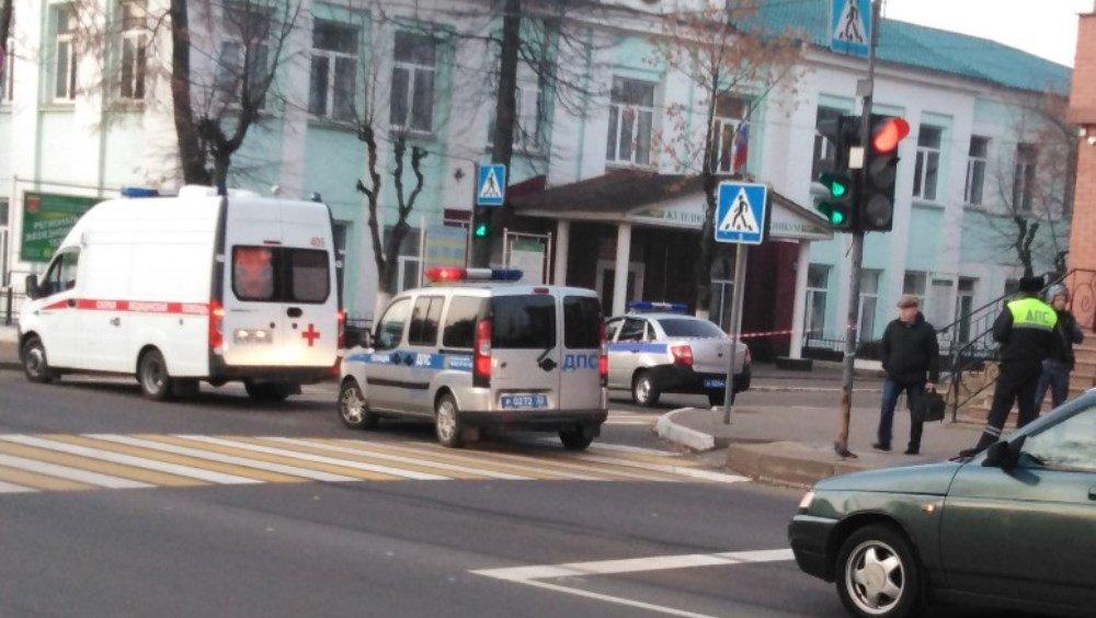 В Фокинском районе Брянска в ДТП возле ж/д колледжа пострадал человек
