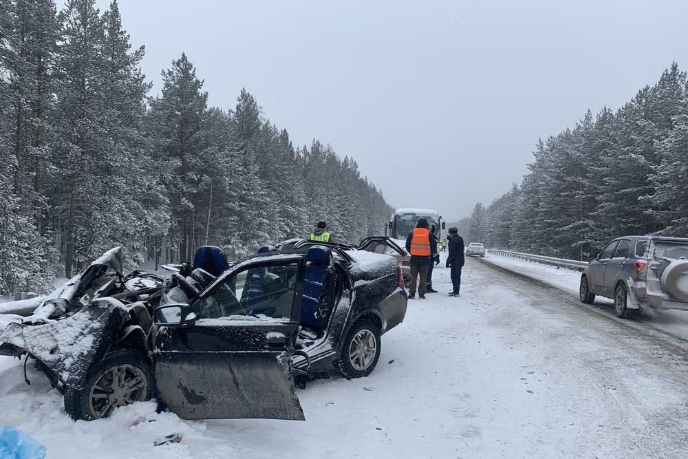 На брянских дорогах из-за непогоды произошло 40 аварий
