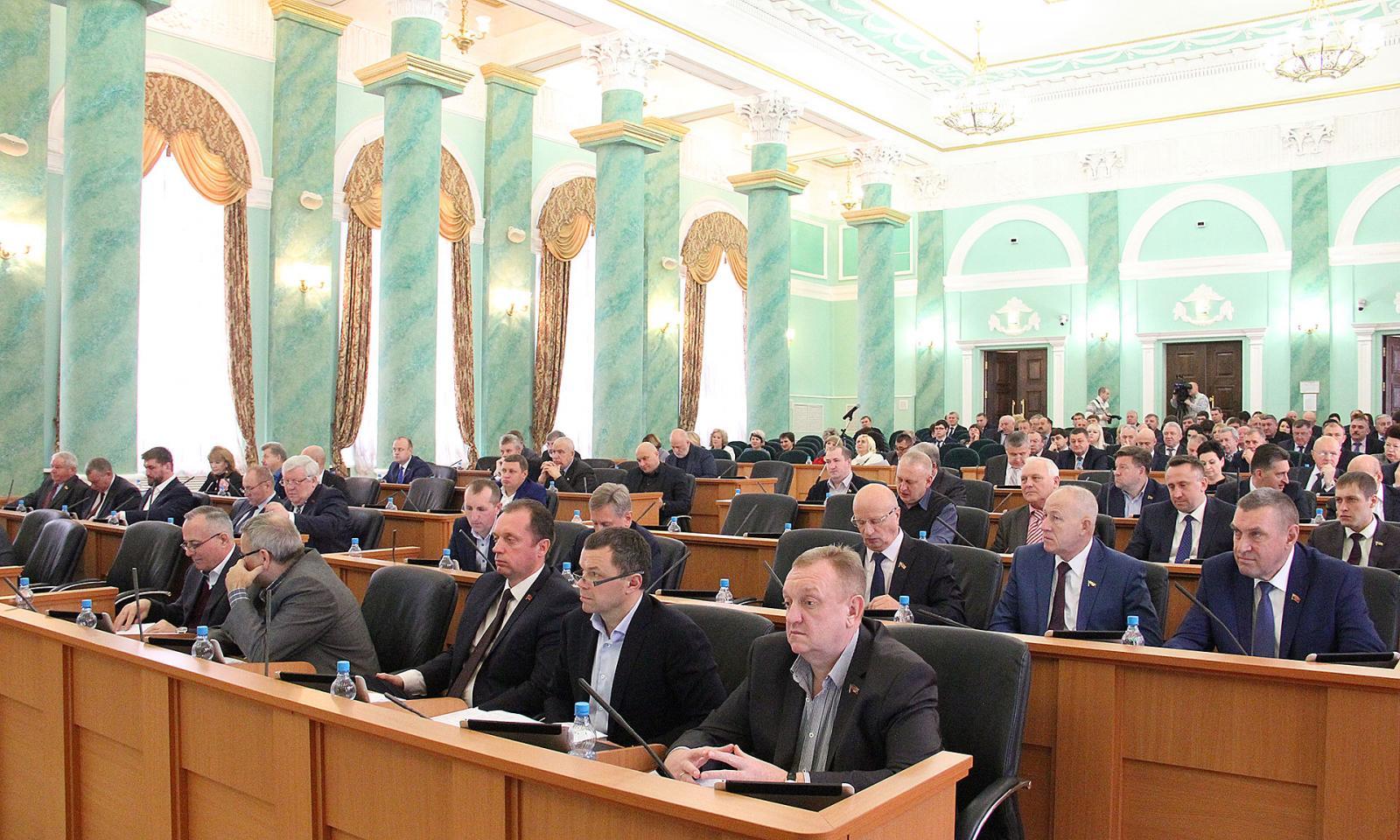 Очередное заседание облдумы в Брянске состоится 28 января