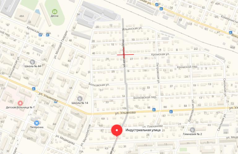 Сегодня в Бежицком районе Брянска ограничат движение