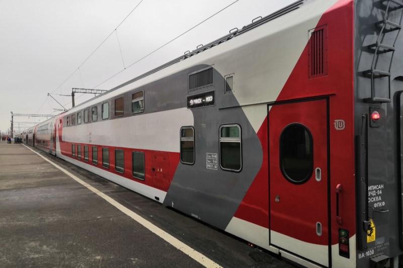 С 22 августа жители Брянщины смогут уехать на поезде до Сочи