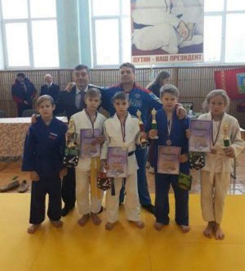 В Почепском районе прошел международный турнир по дзюдо