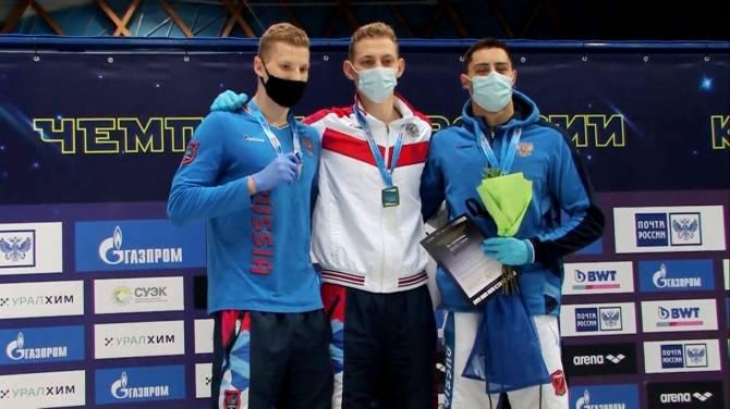 Брянский пловец Илья Бородин завоевал второе золото на чемпионате России