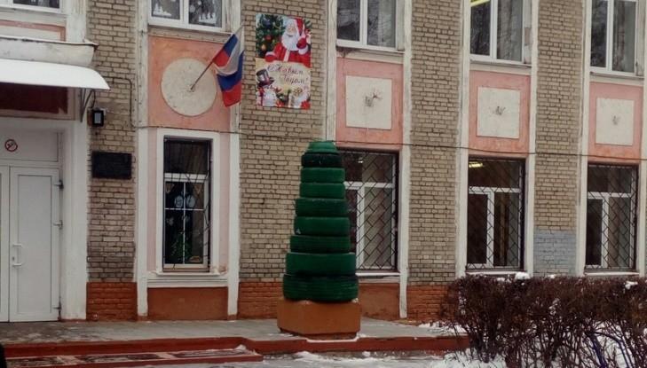 Брянская елка из автомобильных шин попала во всероссийский рейтинг