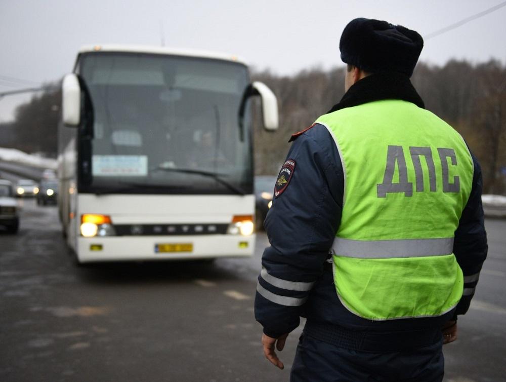 Под Брянском проверят водителей автобусов
