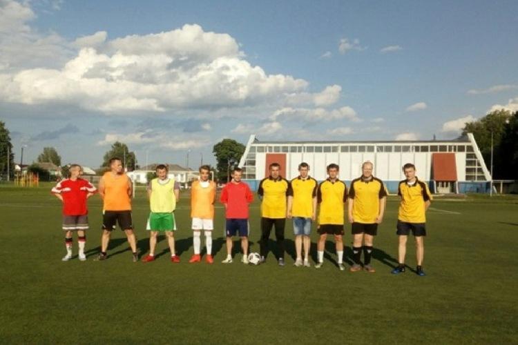 В брянских исправительных учреждениях прошли матчи по футболу