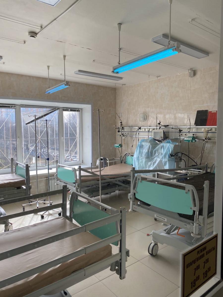 В брянских клиниках удвоят количество аппаратов ИВЛ