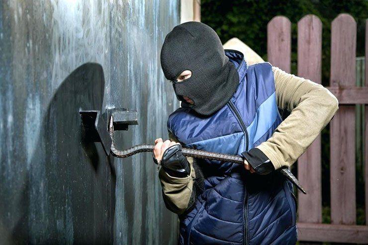 34-летний брянский уголовник обчистил пять гаражей