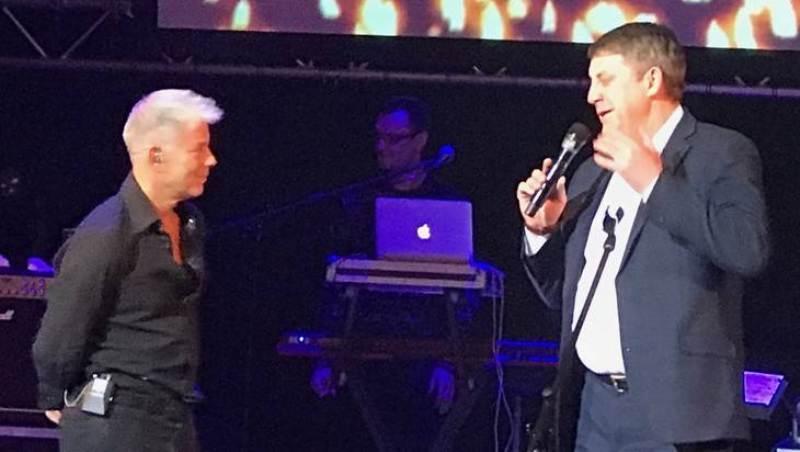 Александр Богомаз поблагодарил Газманова за его песни