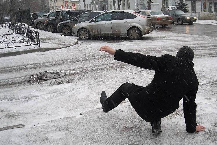 Брянцы бьются об лед головой и грудной клеткой