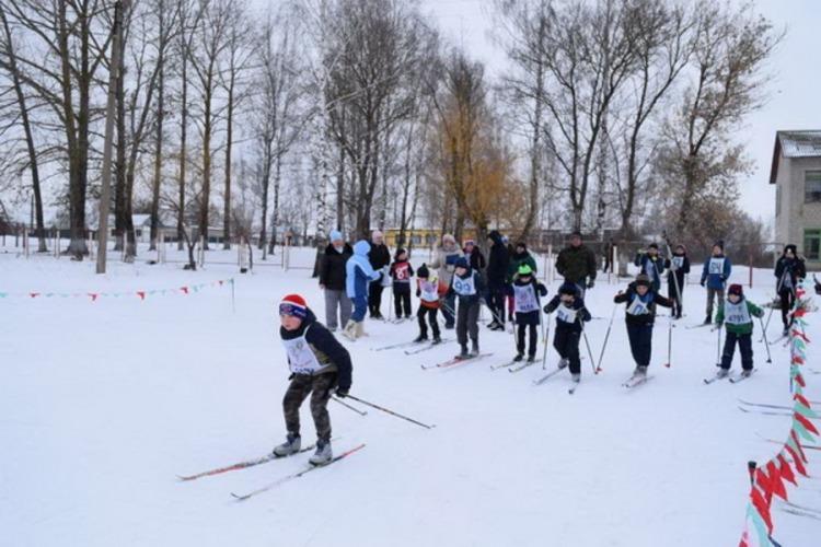 В Выгоничах прошли лыжные соревнования