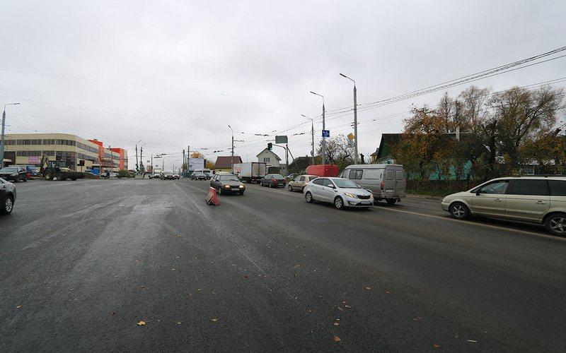 Четырехполосное движение открыли в Брянске на Городищенском перекрестке