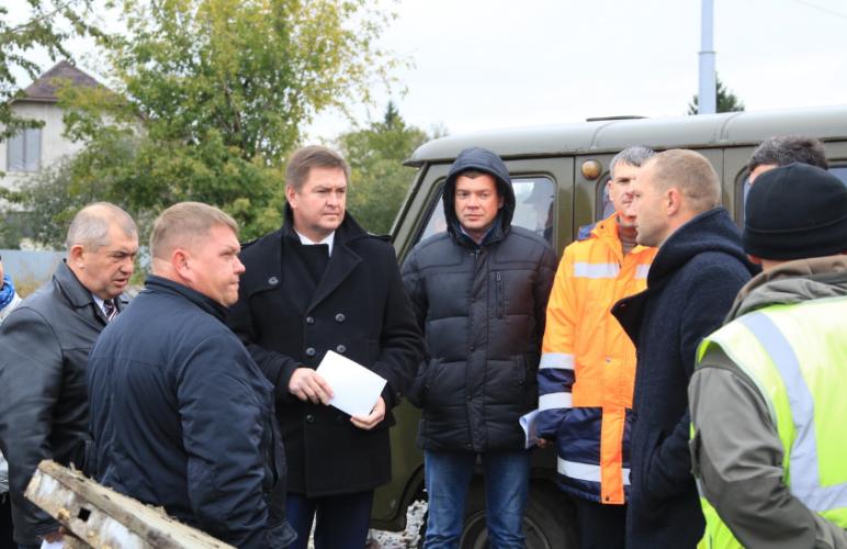 В Брянске активно ведутся работы по расширению Городищенской горки