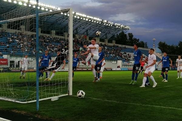 Футболисты брянского «Динамо» сыграли вничью